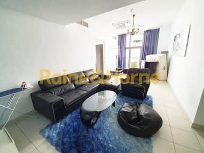 شقة 2 غرفة نوم للايجار في مدينة دبي للاستديوهات، دبي - Furnished 2 bed | 4 Cheques | Corner Unit