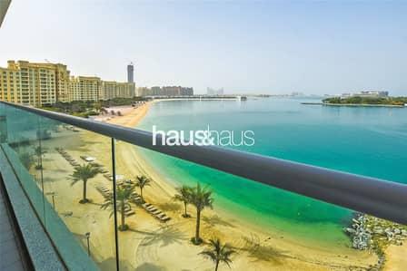 شقة 1 غرفة نوم للايجار في نخلة جميرا، دبي - Burj Al Arab and Ocean view | Available Now |