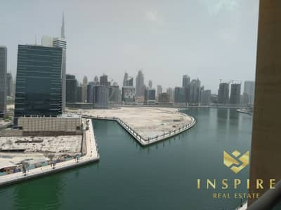1 Bedroom Flat for Rent in Business Bay, Dubai - 1BR | Burj and Canal View | High Floor