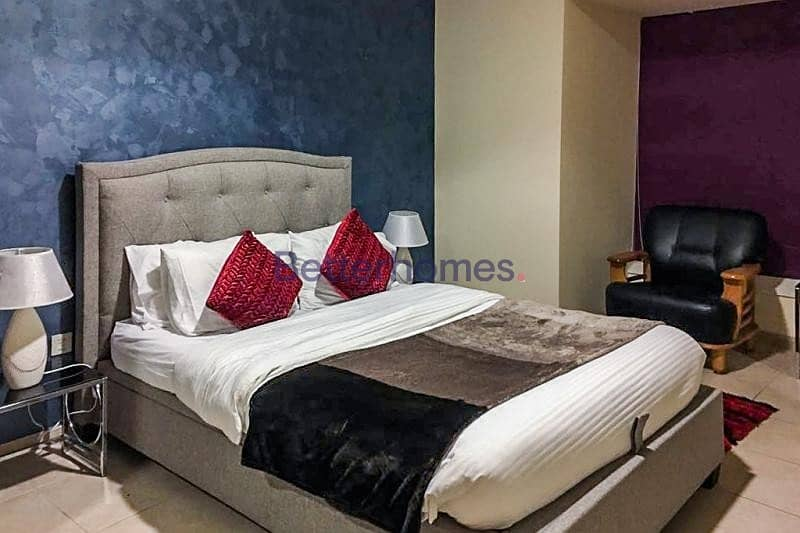 2 Fully Furnished 1 BR | Sea View | Balcony