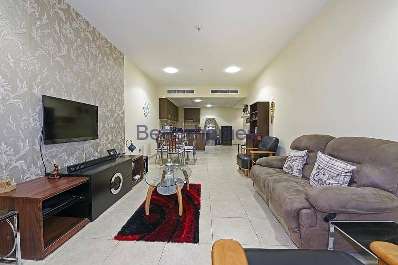 Fully Furnished 1 BR | Sea View | Balcony