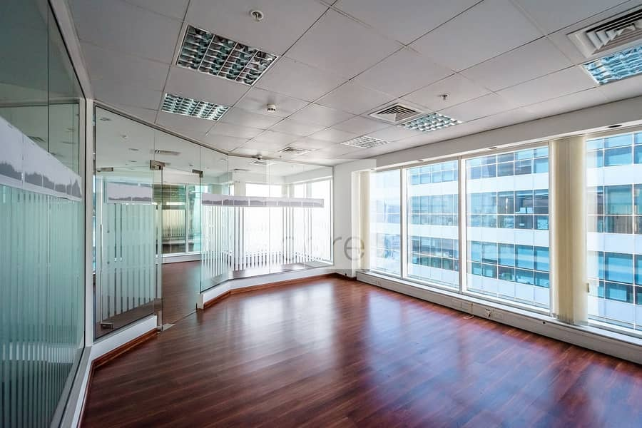 On High Floor | Fitted Partitioned Office
