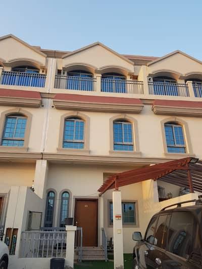 2 Bedroom Villa for Rent in Ajman Uptown, Ajman - //HUGE !! LIKE NEW 2 FLOOR VILLA 2 BEDROOMS HALL BEAUTIFUL CENTRAL A/C IN UPTOWN