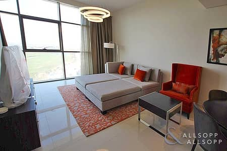 1 Bedroom Flat for Rent in DAMAC Hills (Akoya by DAMAC), Dubai - Furnished   1 Bed   Top Floor   Golf View