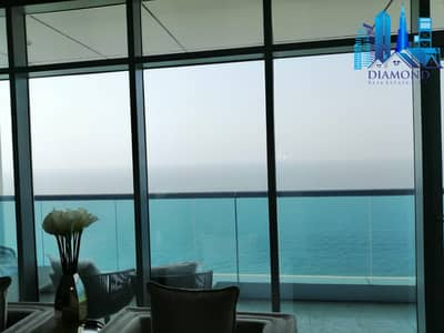 2 Bedroom Flat for Sale in Corniche Ajman, Ajman - PAY 100,000 TO GET YOUR KEY FOR 2 BHK IN AJMAN COR NICHE RESIDENCE FULL SEA VIEW