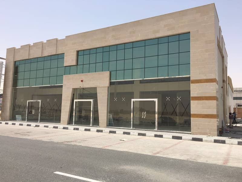 Showroom rent in IND-18 in Sharjah