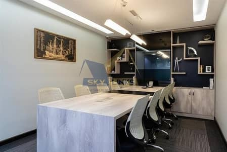 Office for Rent in Business Bay, Dubai - 2 MONTH FREE Fully Furnished Offices with FREE DEWA and WIFI Meeting Room in Business Bay!