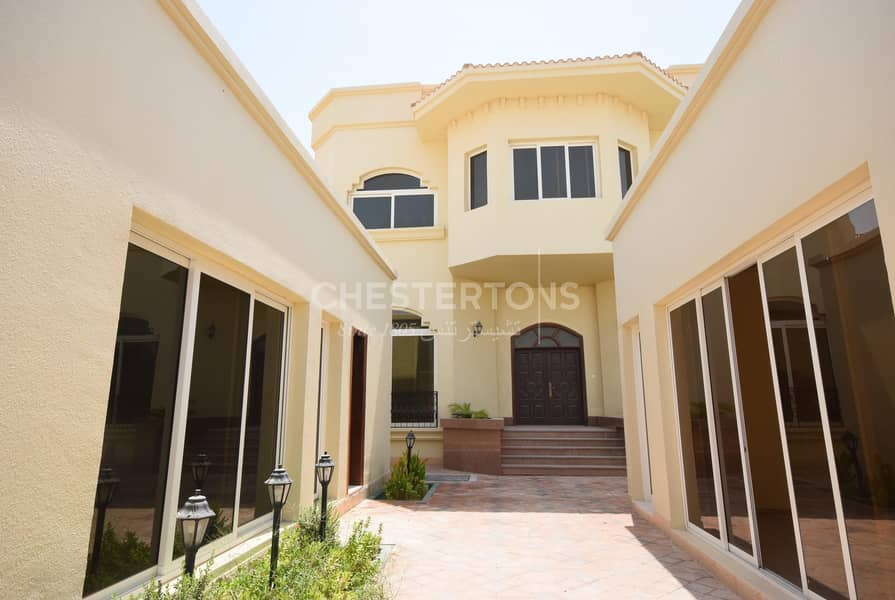 2 Big Standalone 7BR Villa with Private pool | Khalifa City A