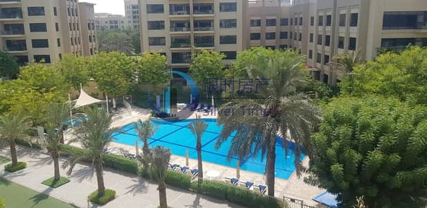 3 Bedroom Apartment for Rent in The Greens, Dubai - Cheapest price | with Study | Pool view