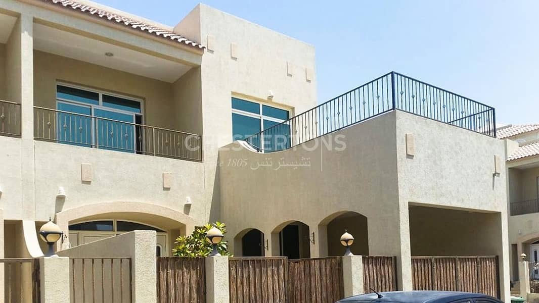 Prime Location 3BR Villa Shared Pool/Gym|Kids Play Area