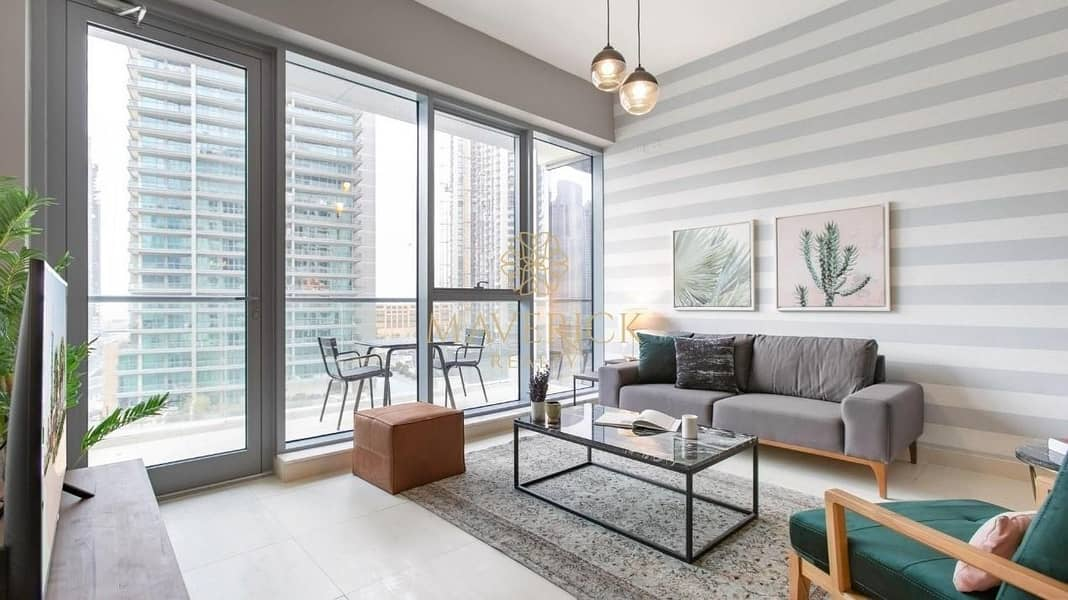 Luxuriously Furnished 2BR | Bahwan Tower