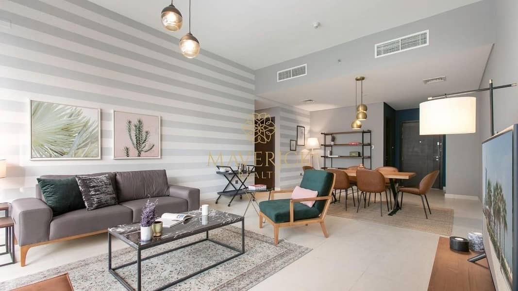 2 Luxuriously Furnished 2BR | Bahwan Tower