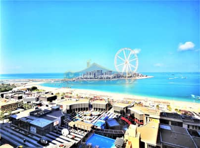 3 Bedroom Flat for Rent in Jumeirah Beach Residence (JBR), Dubai - New in the Market | 3 + M | Sea