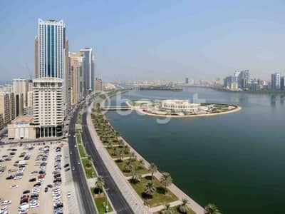 4 Bedroom Apartment for Rent in Corniche Al Buhaira, Sharjah - Very Spacious & Luxury Duplex Flat Available in Abdul Aziz Al Majid Corniche Tower, Sharjah . No Commission & Free Maintenance.