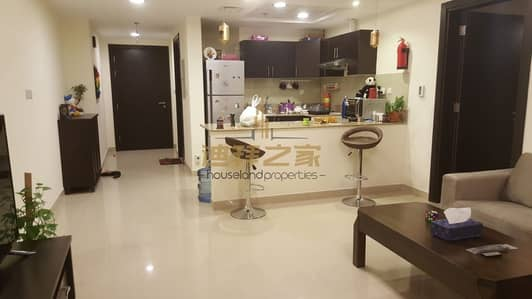 فلیٹ 1 غرفة نوم للبيع في مدينة دبي الرياضية، دبي - High ROI|Rented 1BHK|Corner Unit|Red Residence