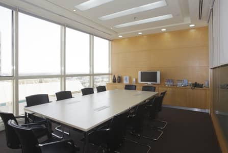 Office for Rent in Airport Street, Abu Dhabi - Meeting Room