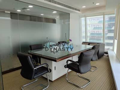 Office for Sale in Business Bay, Dubai - Exclusive | Fitted Office with Partitions | Canal View