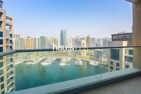 3 Bedroom Apartment for Sale in Dubai Marina, Dubai - Full Marina View | 3 Bed + Maid | Vacant