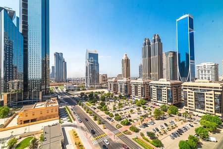 مکتب  للايجار في مركز دبي المالي العالمي، دبي - Fully Fitted and Furnished | 3 Parking Bays
