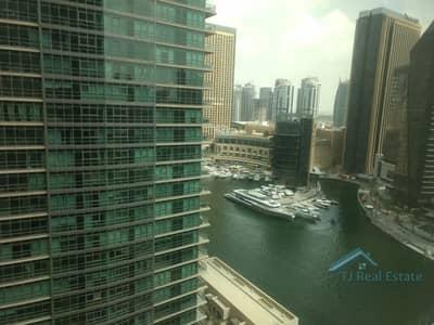 1 Bedroom Flat for Rent in Dubai Marina, Dubai - READY TO MOVE IN ! MARINA VIEW ! AL SAHAB