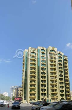 Two rooms and a lounge to buy Rashidiya towers Ajman in the center of the city close to all services