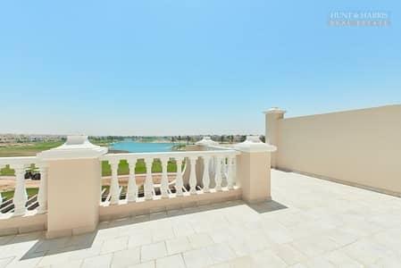 تاون هاوس 4 غرفة نوم للايجار في قرية الحمراء، رأس الخيمة - Premium Location - Amazing Lagoon views - Maids room
