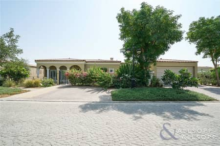 4 Bedroom Villa for Sale in Green Community, Dubai - Immaculate Corner Bungalow | Large Plot<BR/>