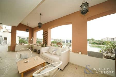 شقة 3 غرفة نوم للايجار في جرين كوميونيتي، دبي - Upgraded Terrace Apartment   Lake Views