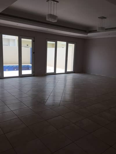 4 Bedroom Villa for Rent in Al Barsha, Dubai - Month Free Huge 4 bhk villa with private pool at good location 160k