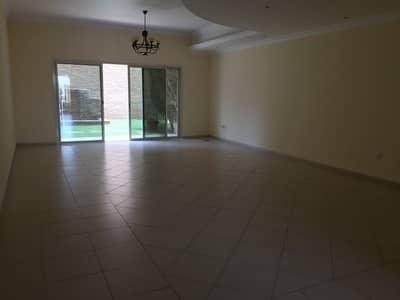 3 Bedroom Villa for Rent in Al Barsha, Dubai - Huge Stylish 3 bhk villa all suits with maid room store  140k