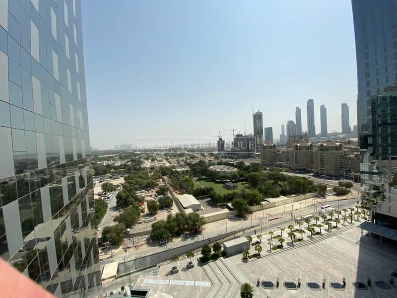 12 Large 1 Bed with Zabeel View | Central Park