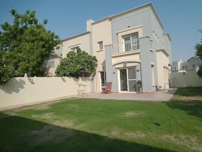 3 Bedroom Villa for Rent in The Springs, Dubai - SINGLE ROW CORNER 3 BHK + STUDY + LAUNDRY VILLA ONLY 125K NEGOTIABLE PRICE ***