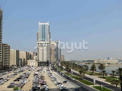 2 Bedroom Flat for Rent in Corniche Al Buhaira, Sharjah - Amazing Offer , Spacious Flats, No Commission, Chiller Free, Maintenance Free . 2Bhk Apartment .