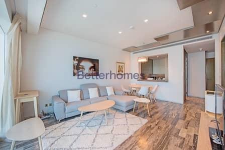 شقة 1 غرفة نوم للايجار في دبي مارينا، دبي - FULLY FURNISHED | FENDI UNIT | CHILLER FREE
