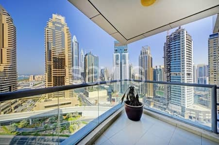 2 Bedroom Apartment for Sale in Dubai Marina, Dubai - Vacant now | Great layout with sea view
