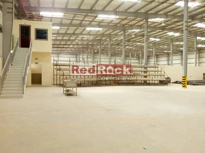 Warehouse for Rent in Dubai Industrial Park, Dubai - 1000 KW Power || 106