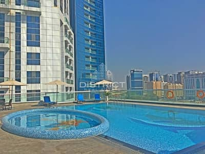 Hotel Apartment for Rent in Corniche Area, Abu Dhabi - Furnished Studio in Time Meera Residence