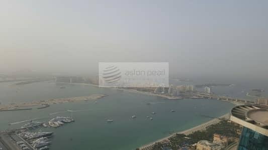 شقة 1 غرفة نوم للبيع في دبي مارينا، دبي - High Floor 1BR | Amazing Sea View | Best Deal