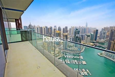 فلیٹ 1 غرفة نوم للبيع في دبي مارينا، دبي - Full Marina Views | Vacant on Transfer