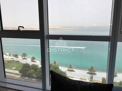 2 Bedroom Flat for Rent in Corniche Area, Abu Dhabi - Fully Furnished Apartment in Corniche Rd