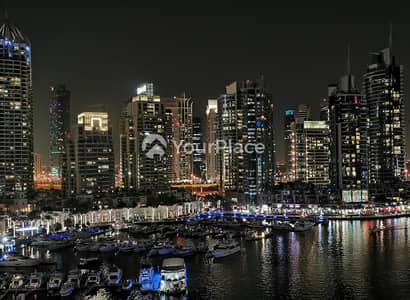 1 Bedroom Flat for Rent in Dubai Marina, Dubai - Best Tower Layout - Well Maintained with Balcony