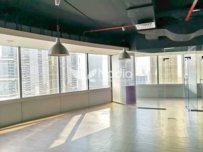 Office for Rent in Jumeirah Lake Towers (JLT), Dubai - Stylish Fitted Office w/ Glass Partitions | Silver Tower (AG) | JLT