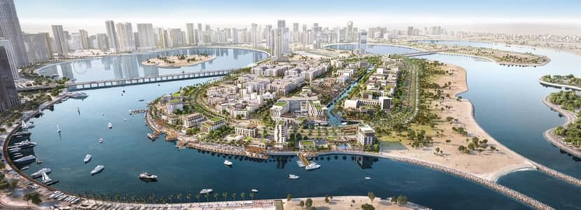 2 Bedroom Apartment for Sale in Al Khan, Sharjah - luxury apt in al khan area  facing the see with easy payment plan