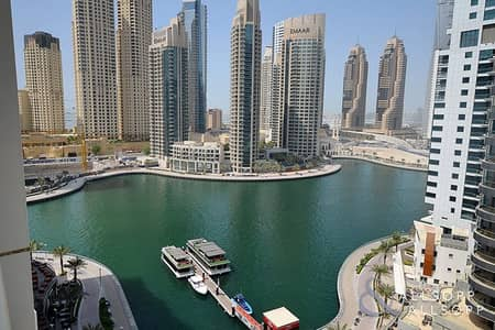 1 Bedroom Flat for Rent in Dubai Marina, Dubai - One Bedroom | Unfurnished | Marina View