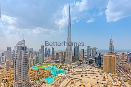 3 Bedroom Apartment for Sale in Downtown Dubai, Dubai - Upgraded I High Floor I 3+Maids I Full Fountain View
