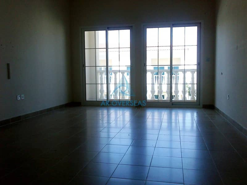 Front Of Main Garden 2 BHK Plus Maid TH For Rent In District 1B