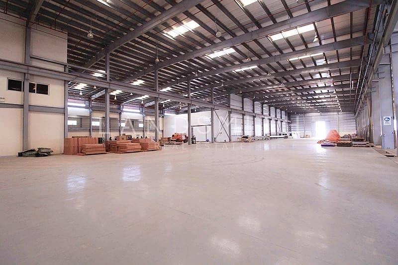 Brand new Huge Factory in Dubai Industrial Park