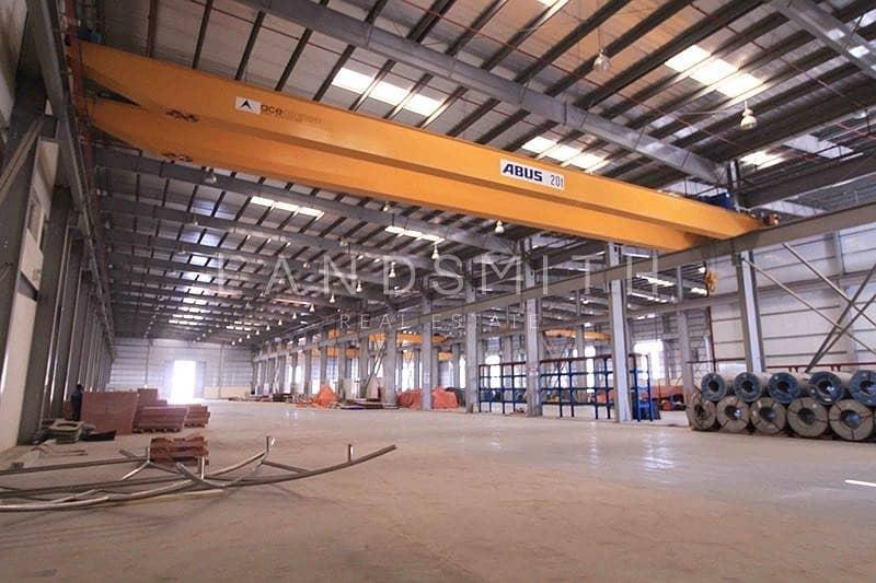 16 Brand new Huge Factory in Dubai Industrial Park
