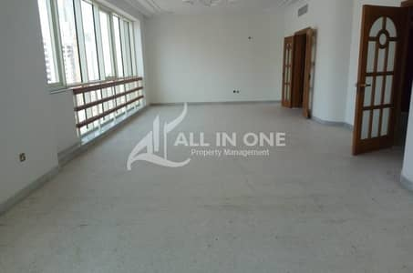4 Bedroom Flat for Rent in Electra Street, Abu Dhabi - Ample 4 Bedroom with Master Room! 4 Easy Payments!