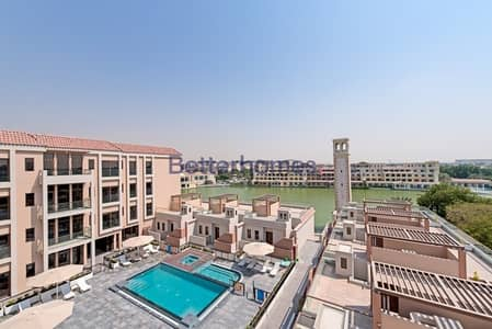 2 Bedroom Flat for Rent in Green Community, Dubai - Brand New | Lake View | Maid's Room | Modern